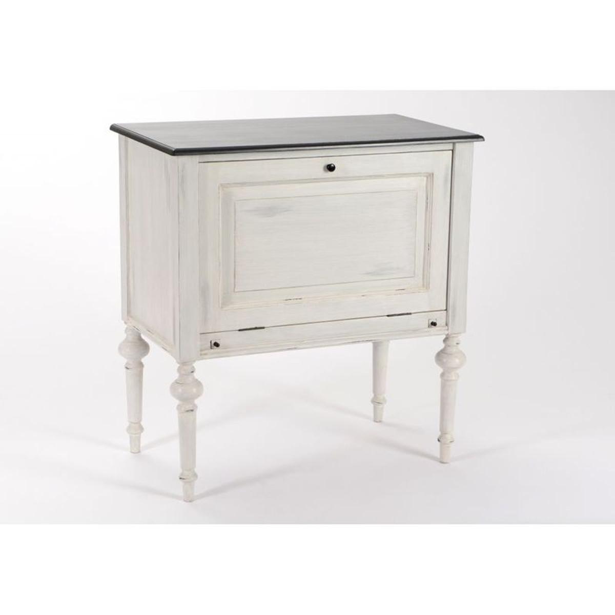 buffet / meuble de bar baroque 1 porte à battant heritage bois