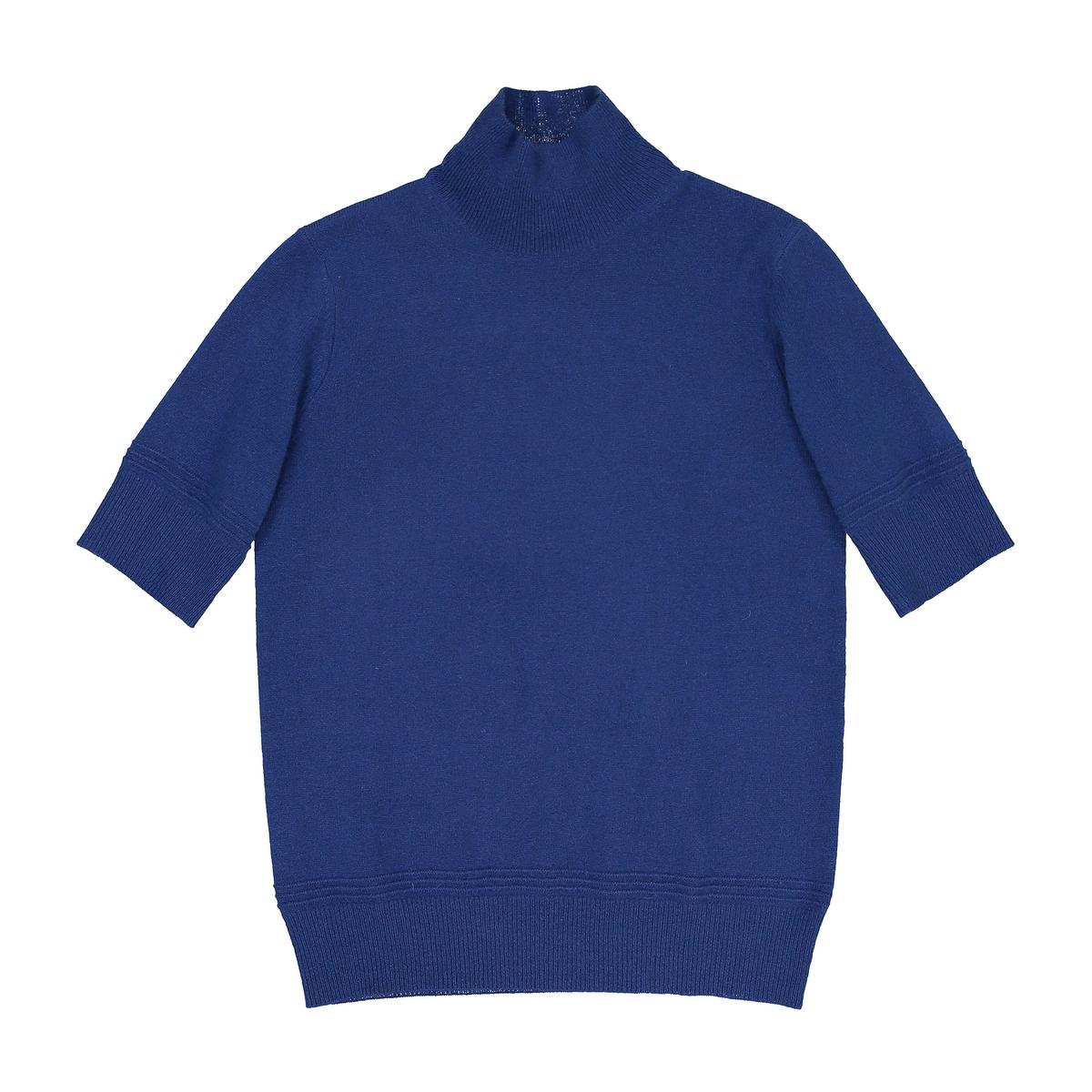 Пуловер с воротником, 100% кашемирДетали  •  Короткие рукава •  Воротник с отворотом  •  Тонкий трикотаж  Состав и уход   •  100% кашемир •  Ручная стирка   •  Сухая чистка и отбеливание запрещены     •  Не использовать барабанную сушку •  Низкая температура глажки<br><br>Цвет: темно-бежевый,темно-синий,ультрафиолет,черный<br>Размер: L.M.S.L.M.XXL.S.XL.S.M.M.XXL.L.XXL.L