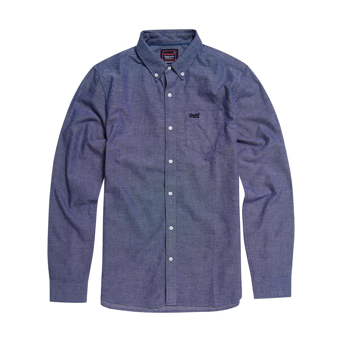 Camisa recta de oxford Classic University
