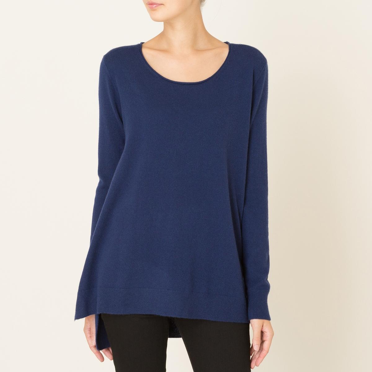 Пуловер женский из кашемираСостав и описание Материал : 100% кашемираМарка : THE KOOPLES<br><br>Цвет: синий