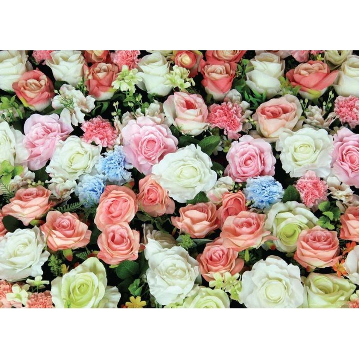 Roses, photo murale, 160 x 115 cm, 1 part