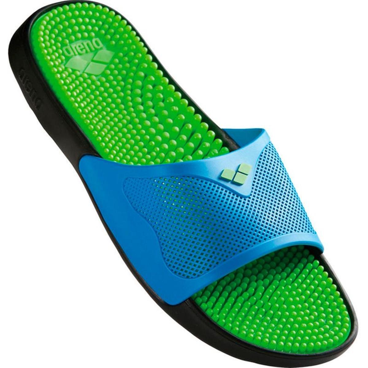 Marco X Grip Hook - Chaussures de plage - vert/bleu