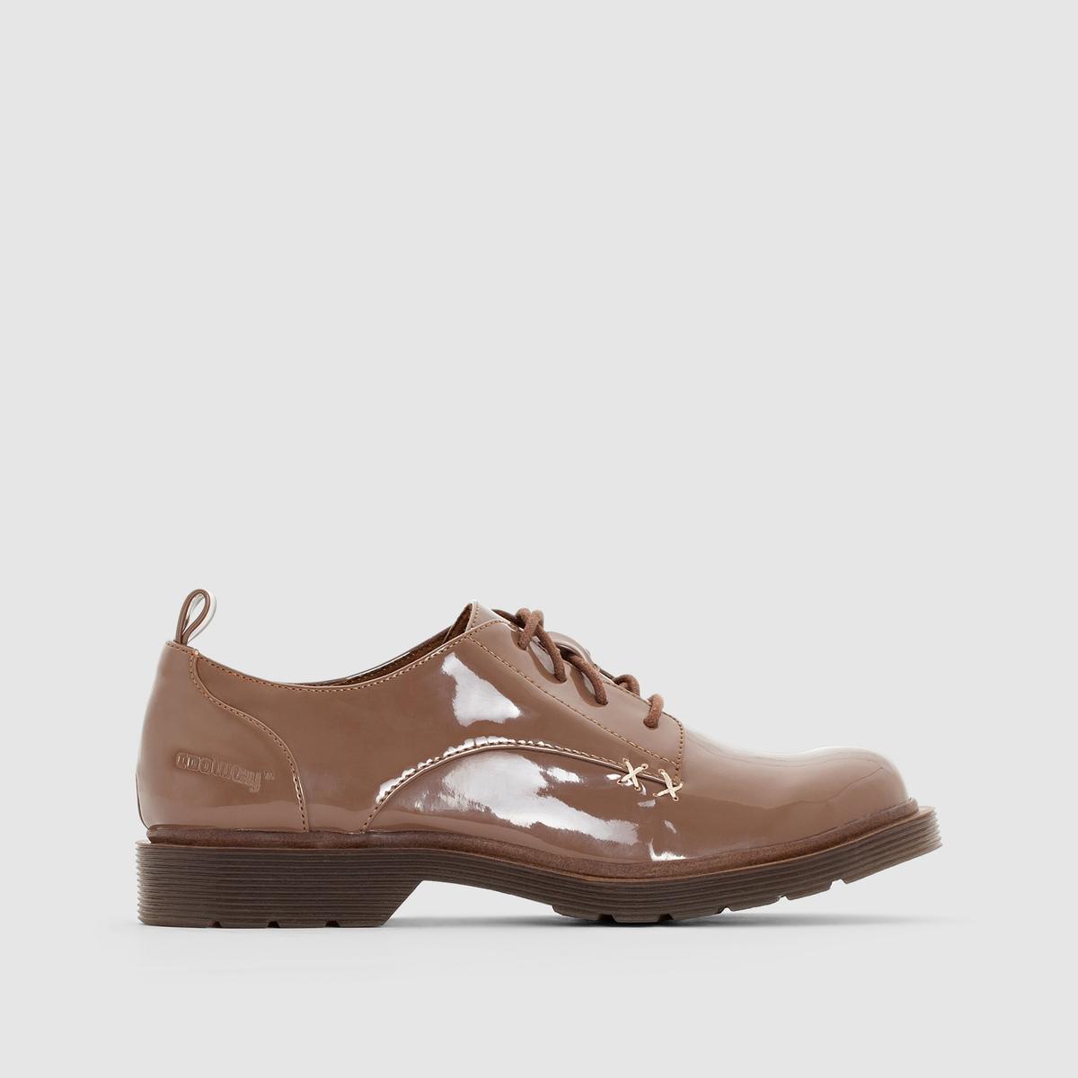 Ботинки-дерби лакированные CLAIRE