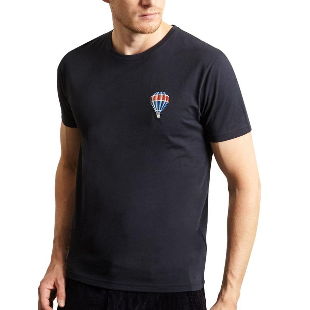 T-Shirt Montgolfière en Coton Biologique