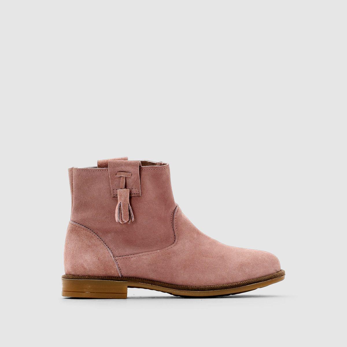 Boots croûte de cuir 26-39