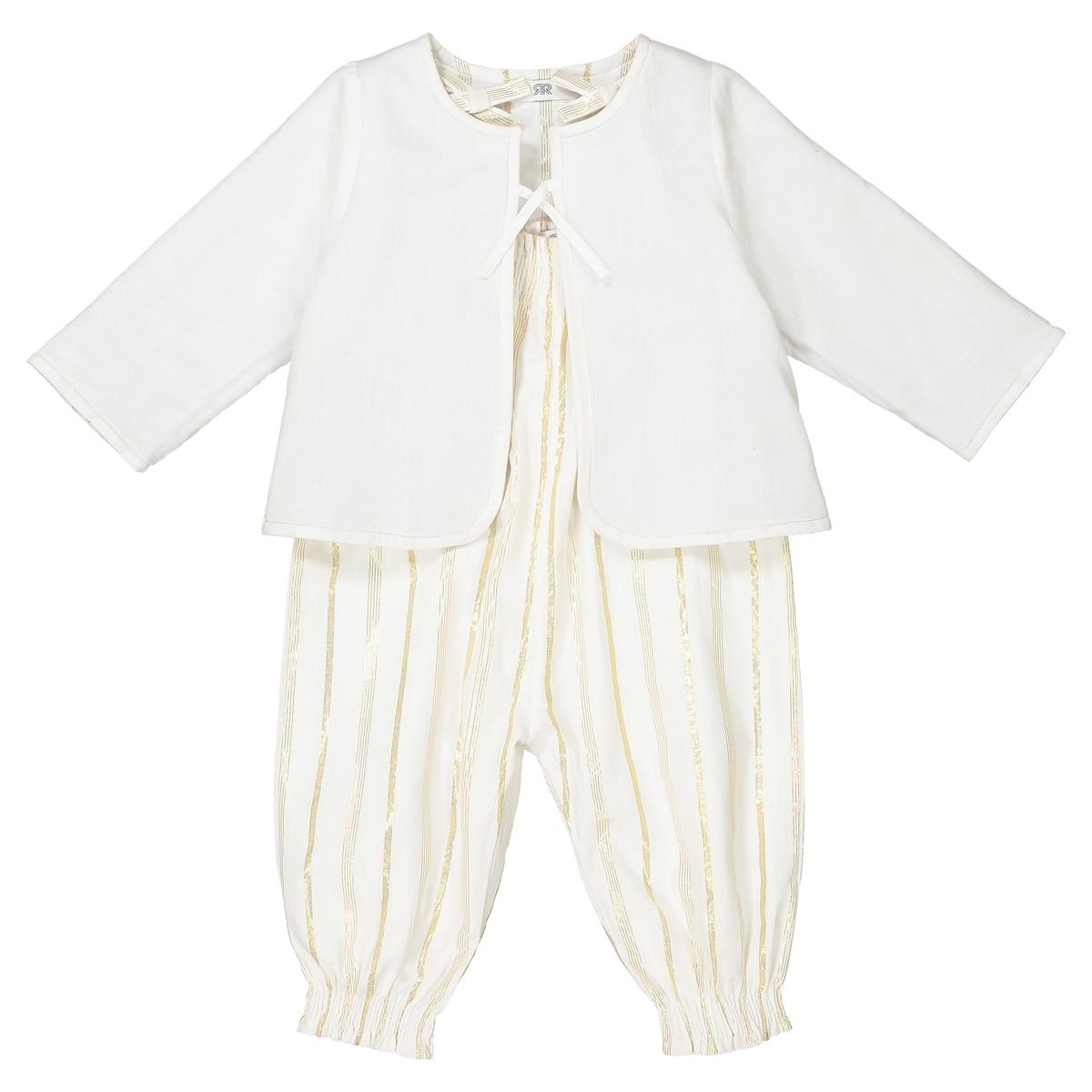 Комплект для малышей из пиджака и комбинезона 1 mois - 3 ans от La Redoute Collections
