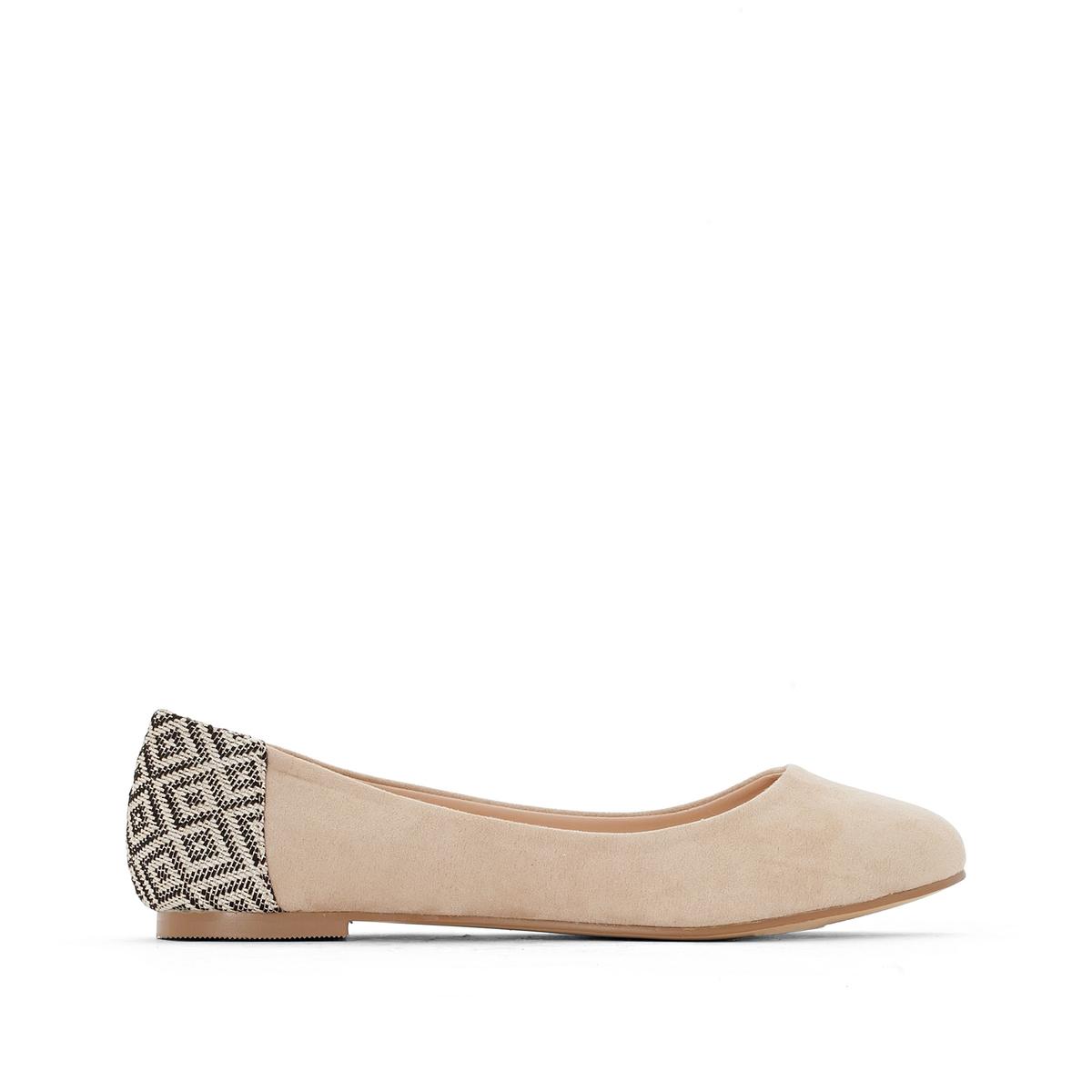 Купить со скидкой Балетки на плоском каблуке, подходят для широкой стопы, размеры 38-45