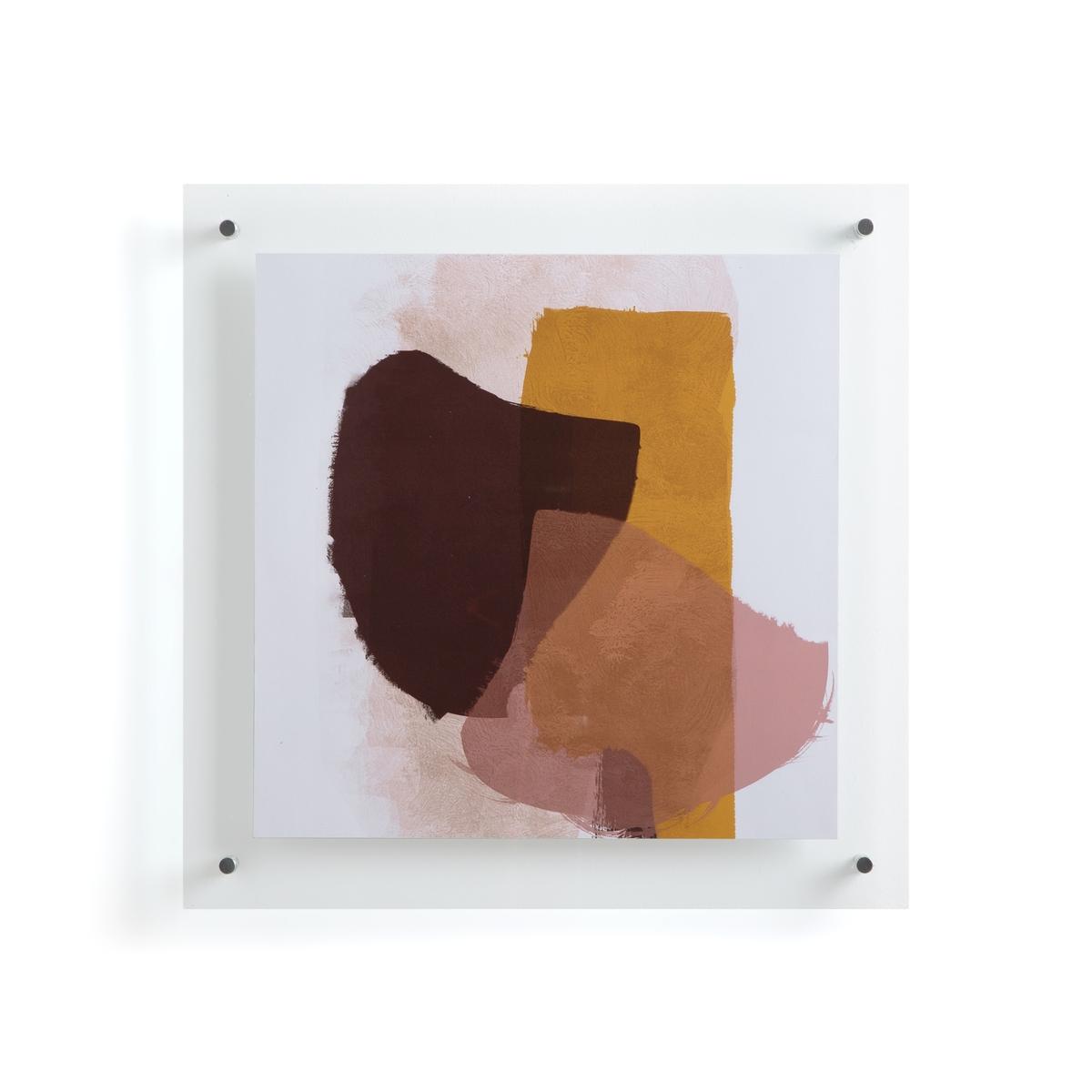 Плакат La Redoute С эффектом картины Kogen единый размер разноцветный этажерка la redoute с полками remia единый размер белый