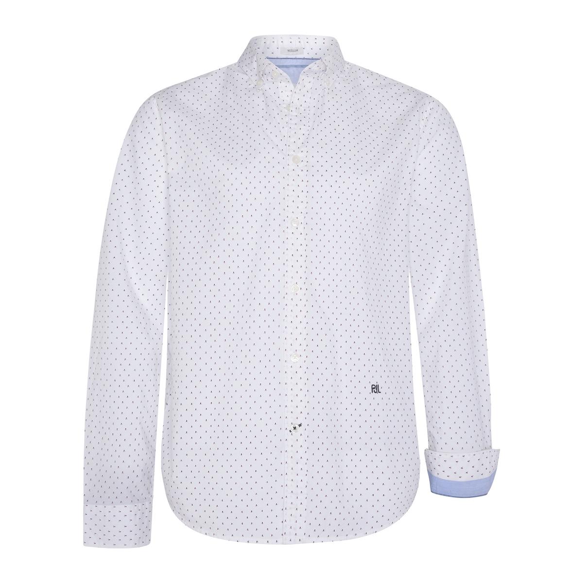 Camisa slim con motivo estampado Davon