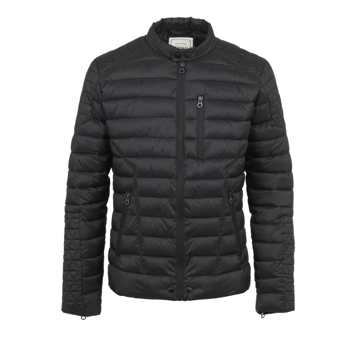 Блузон La Redoute В байкерском стиле Ozone M черный свитшот la redoute с логотипом в винтажном стиле la redoute m белый