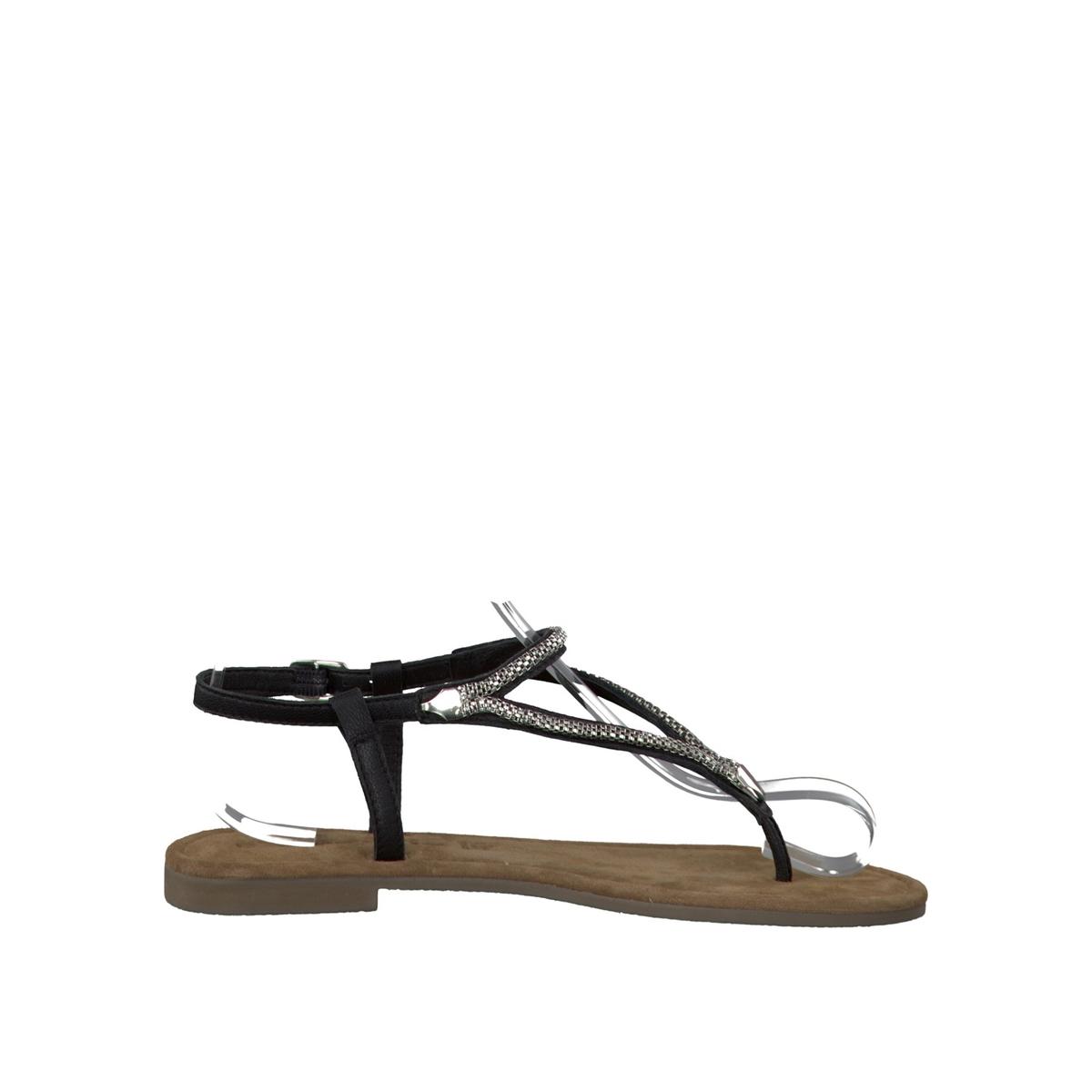 Босоножки кожаные 28111-28Верх/Голенище : кожа  Подкладка : кожа  Стелька : кожа  Подошва : синтетика  Высота каблука : 0,5 см  Форма каблука : плоский каблук  Мысок : закругленный мысок  Застежка : пряжка<br><br>Цвет: черный