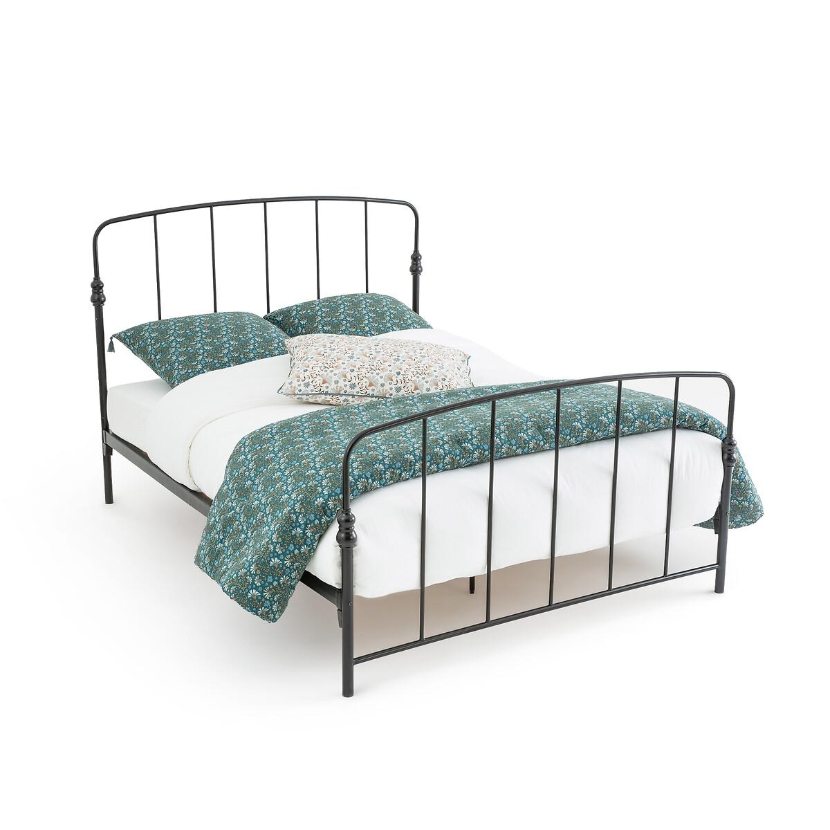 Кровать La Redoute Из металла Amone 160 x 200 см черный
