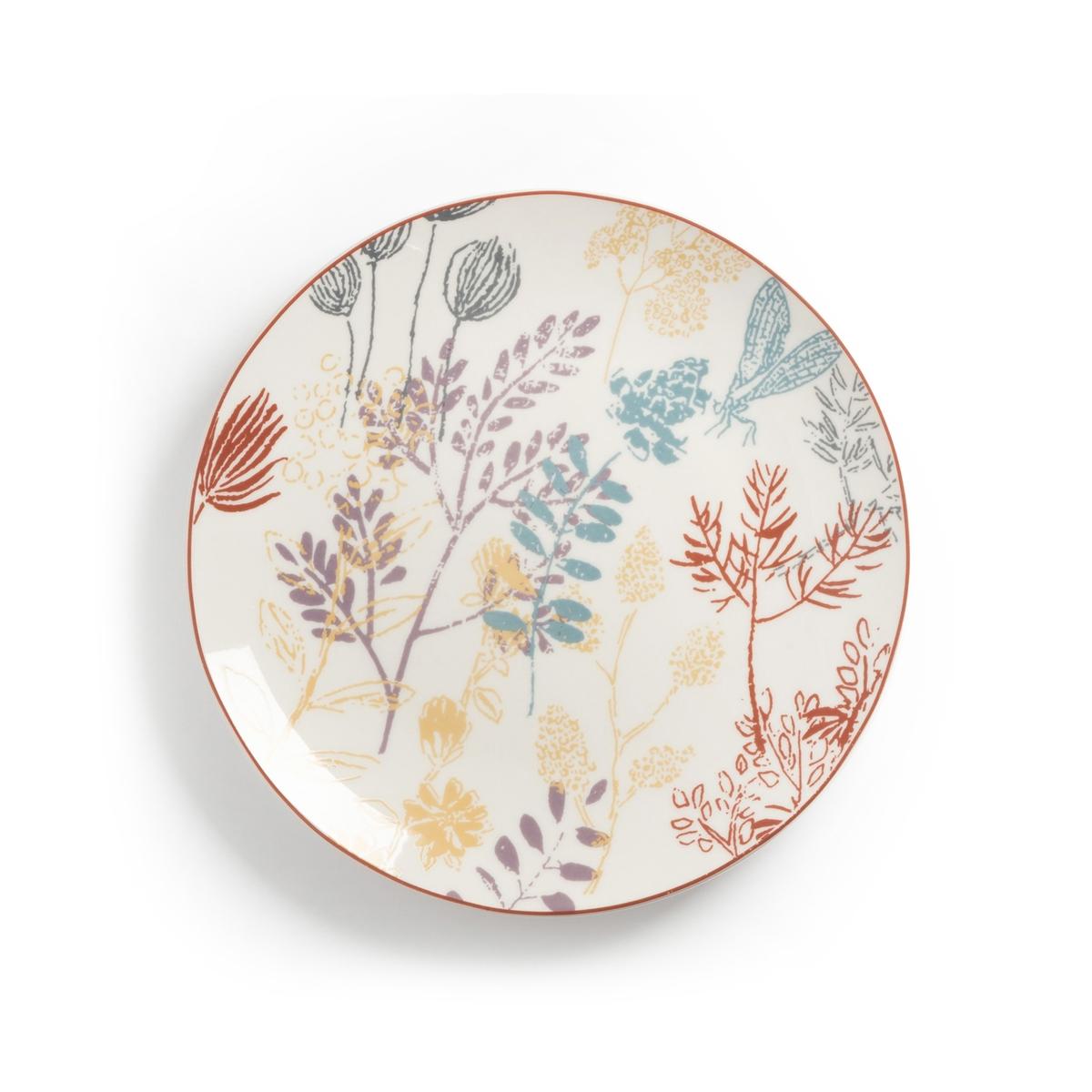 Десертных La Redoute Тарелки ERBAL единый размер другие плоские la redoute тарелки из эмалированной керамики attale единый размер каштановый