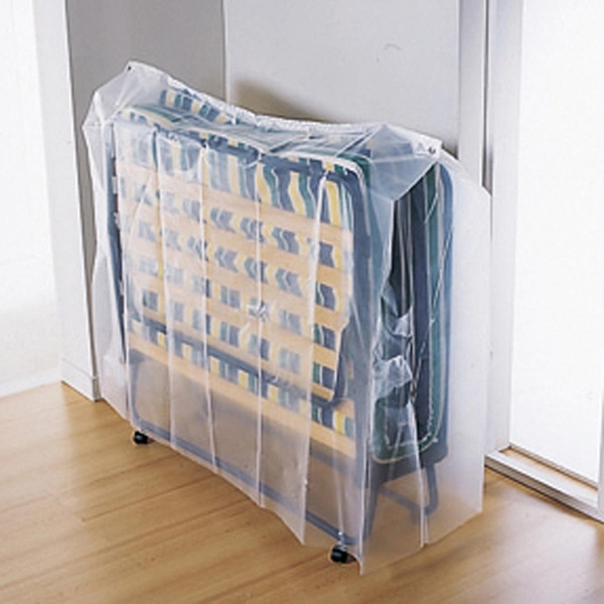 Чехол защитный для раскладной кроватиLa Redoute<br>Чехол защитный специально для раскладной кровати : полная защита кровати иматраса! Описание чехла :Полупрозрачный полиэтилен.Длина 190 см, 2 ширины на выбор.2 размера : 70/80 x 190 см или 120/140 x 190 см .<br><br>Цвет: прозрачный<br>Размер: 80 x 190 см