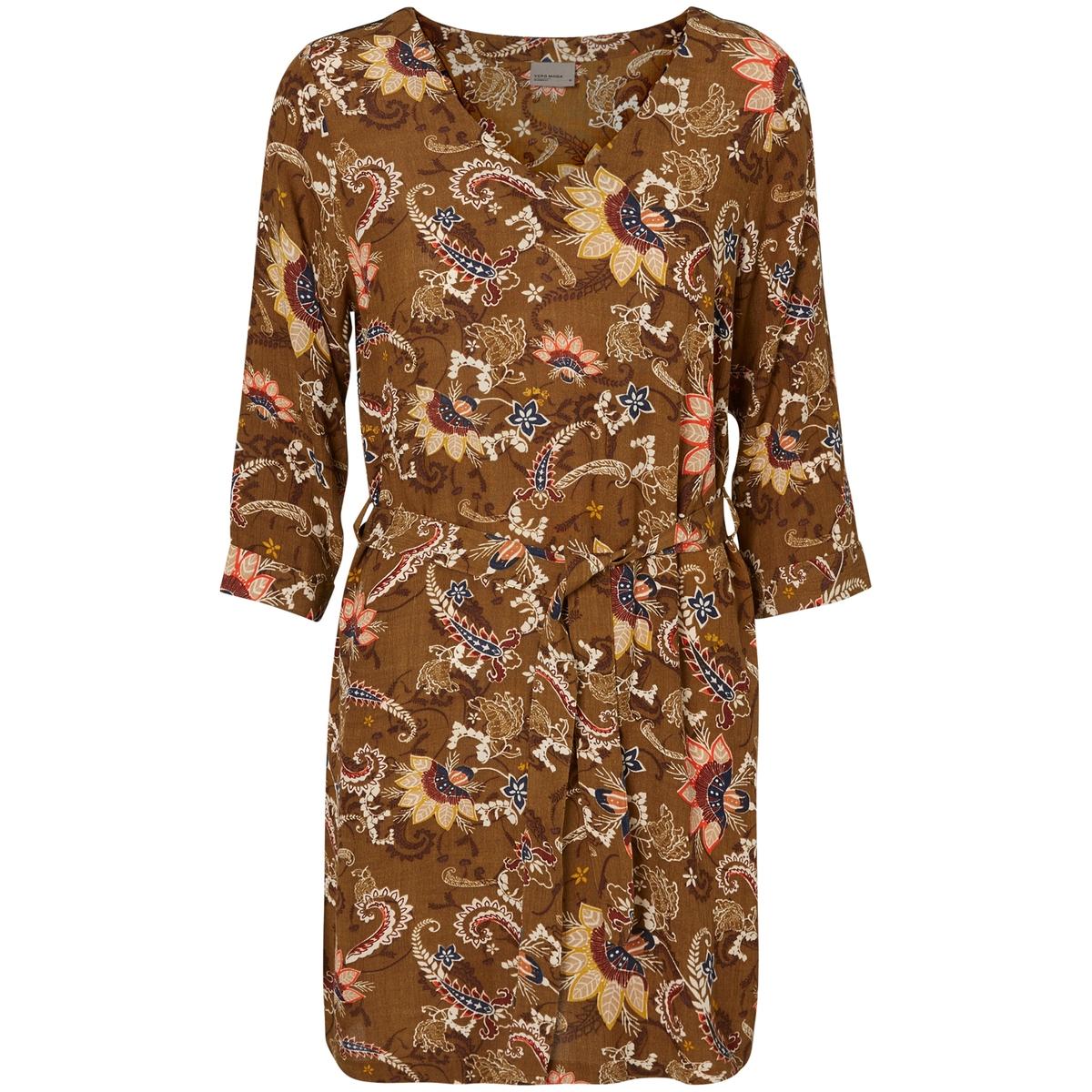 Платье короткое с принтом Norma цена 2016