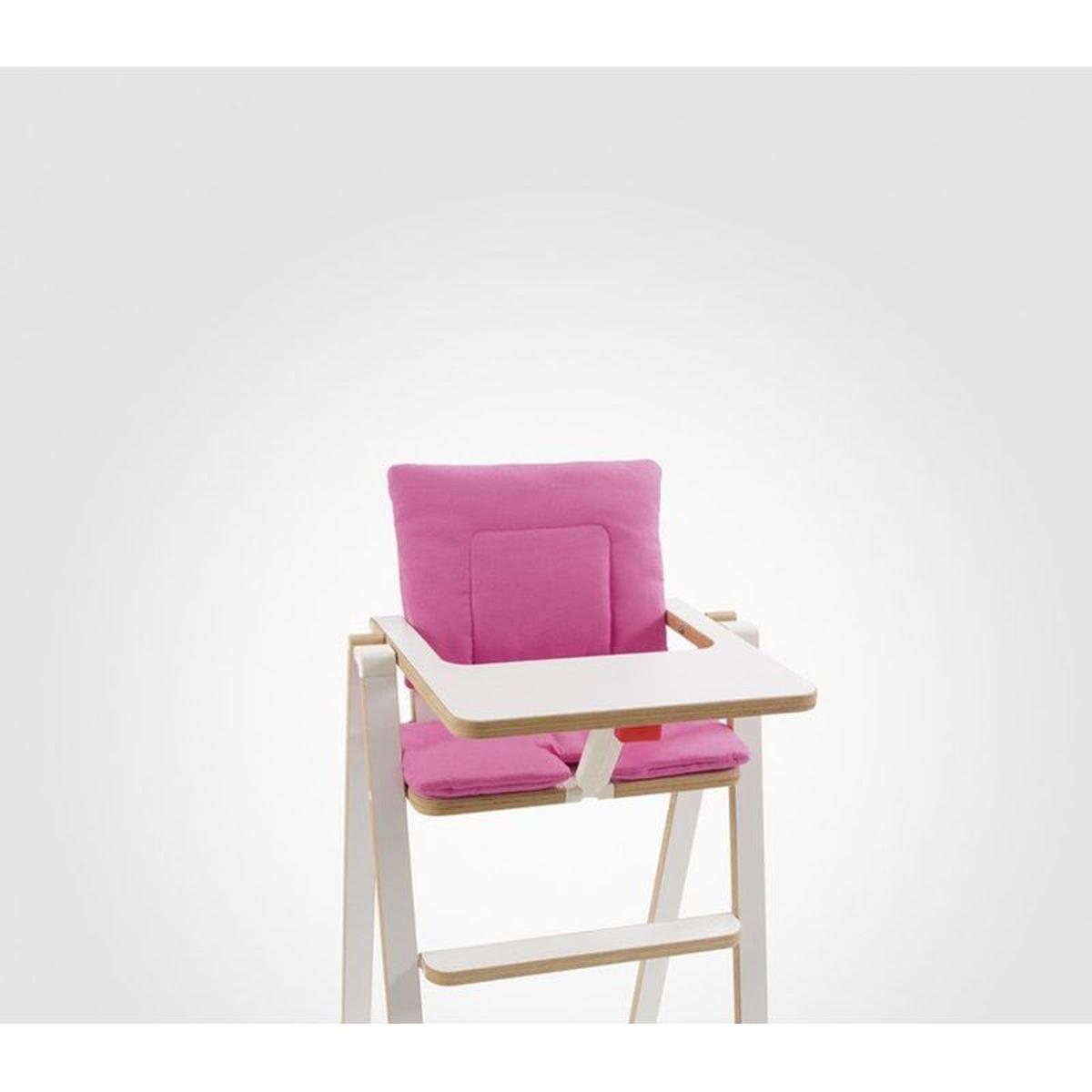 Coussin réducteur chaise haute Supaflat Princess Pink