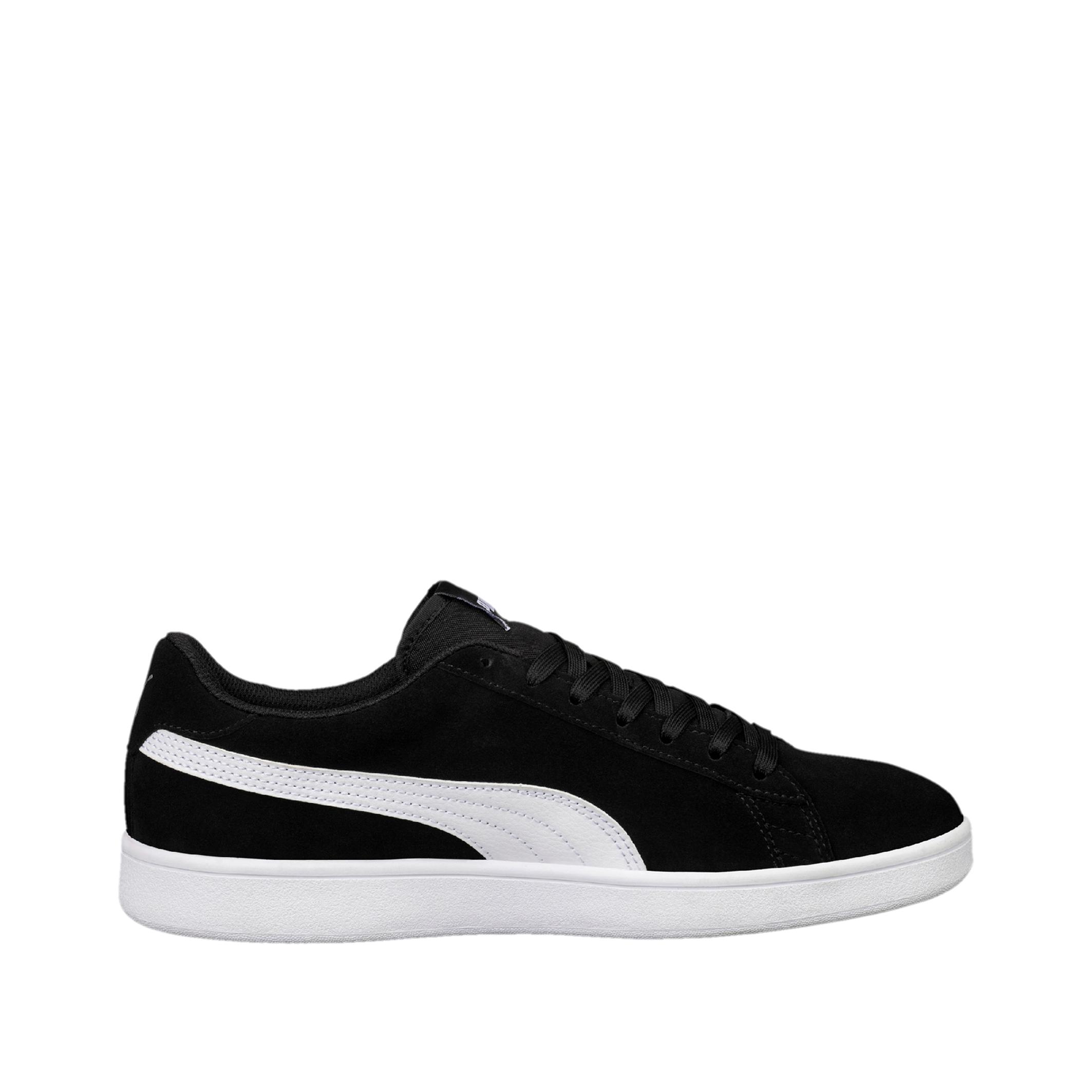 Puma Herensneakers voor sportief wandelen Smash v2 zwart/wit online kopen
