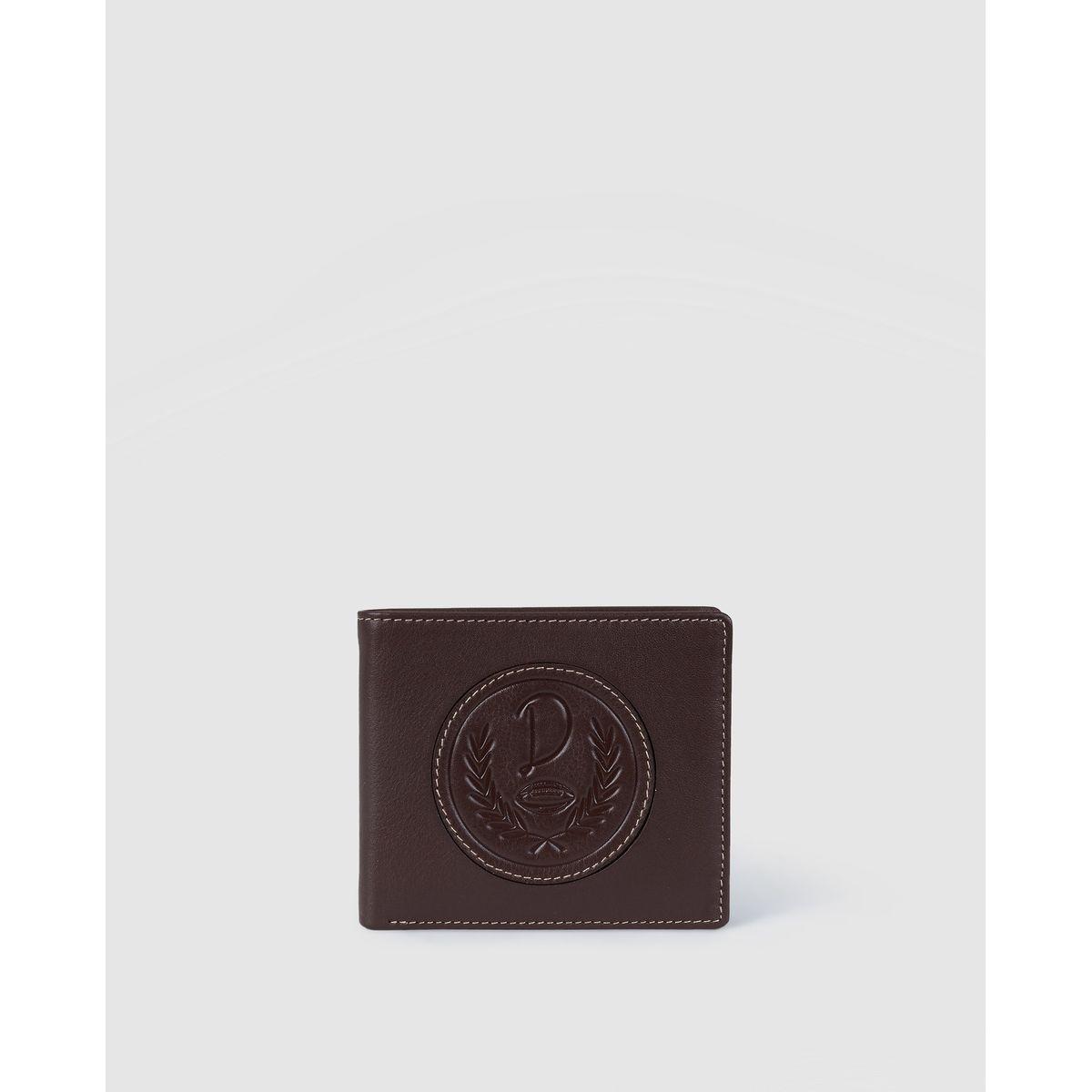 Portefeuille   avec logo de la marque