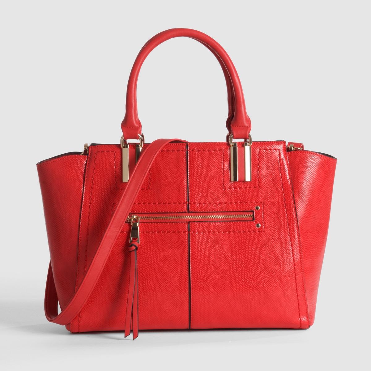 Сумка-шоппер<br><br>Цвет: красный<br>Размер: единый размер
