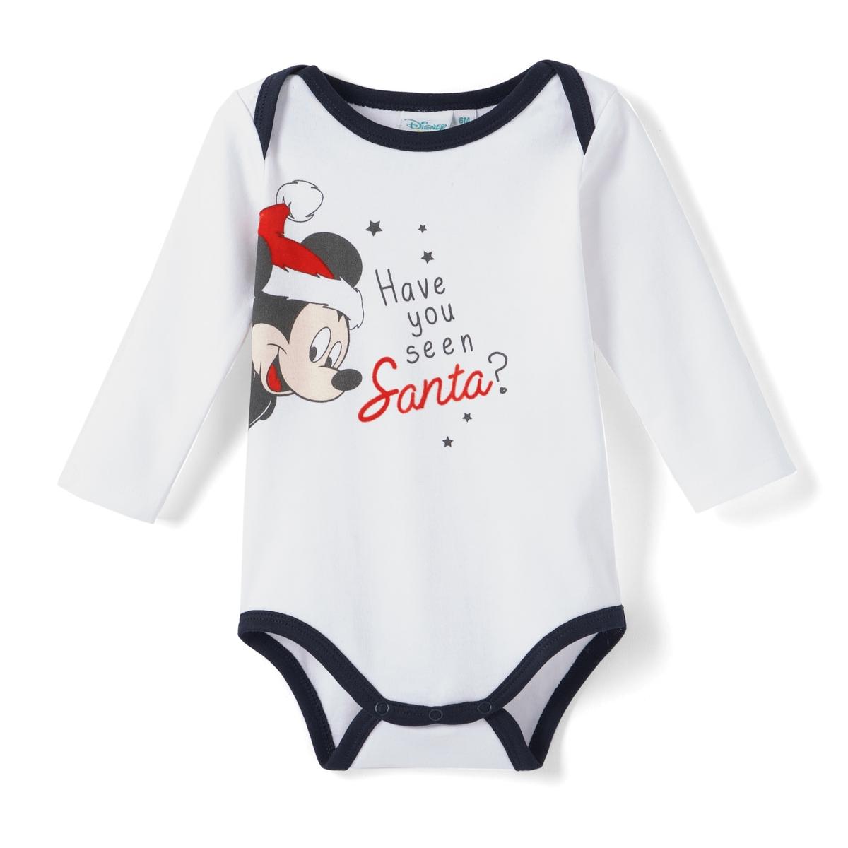 Body maniche lunghe Mickey bébé 3 mesi - 2 anni