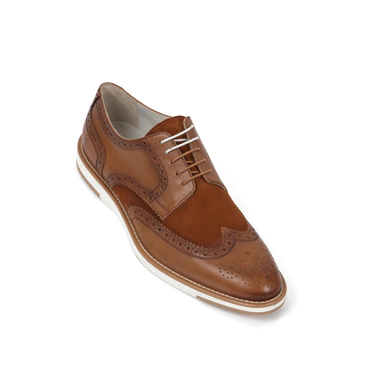 Ботинки-дерби кожаные Etienne