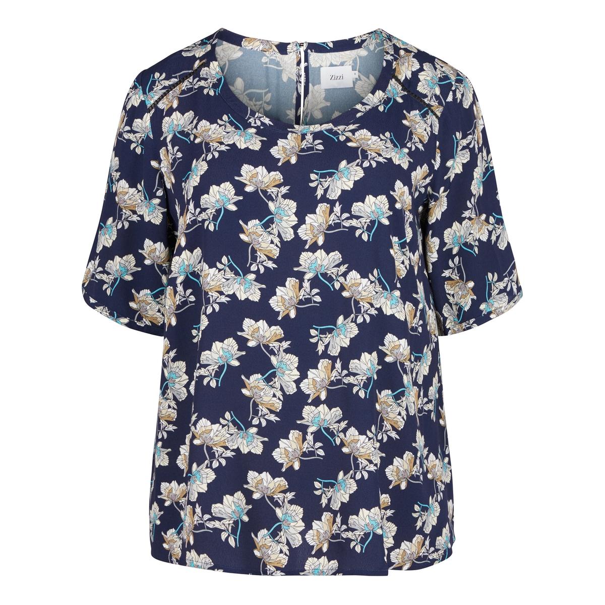 Блузка с рисунком с длинными рукавами madame à paris свитер с длинными рукавами
