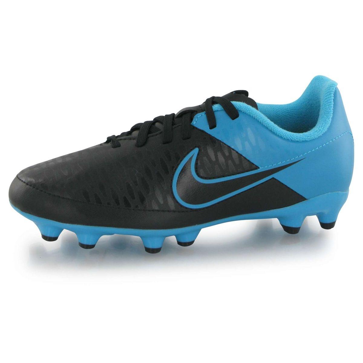 Chaussures Nike Magista Onda Fg Noire Et Bleue