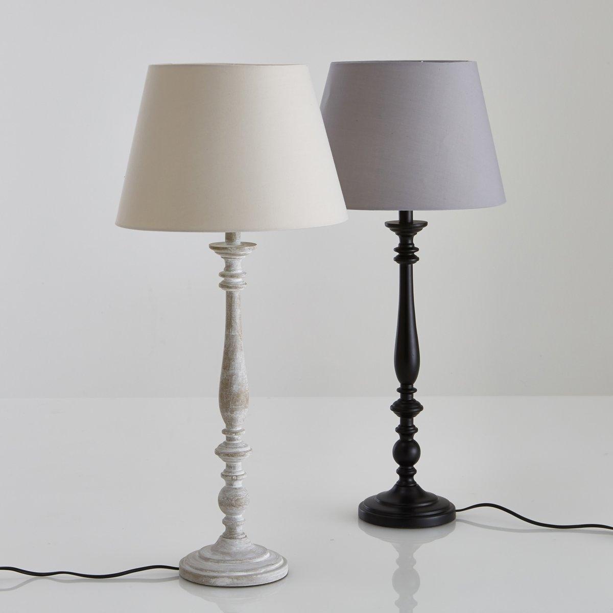 Лампа настольная из гельвеи, KanattaЛампа Kanatta из дерева гельвеи, элегантная и декоративная серо-коричневого цвета .Описание настольной лампы из гельвеи Kanatta :  Вращающаяся ножка. Однотонный абажур Патрон E14 для лампочки 40W (не входит в комплект)  .   Этот светильник совместим с лампочками    энергетического класса    : A-B-C-D-EХарактеристики лампы Kanatta :  Из гельвеи серо-коричневого цвета . Абажур 100% хлопок . Всю коллекцию светильников вы можете найти на сайте laredoute.ru.Размеры лампы  Kanatta  :Лампа: Высота : 70 см, Диаметр низа: 15 см.. Абажур: Диаметр верха  : 22 смДиаметр внизу : 32 смВысота : 21 см.<br><br>Цвет: серо-каштановый беленый<br>Размер: единый размер