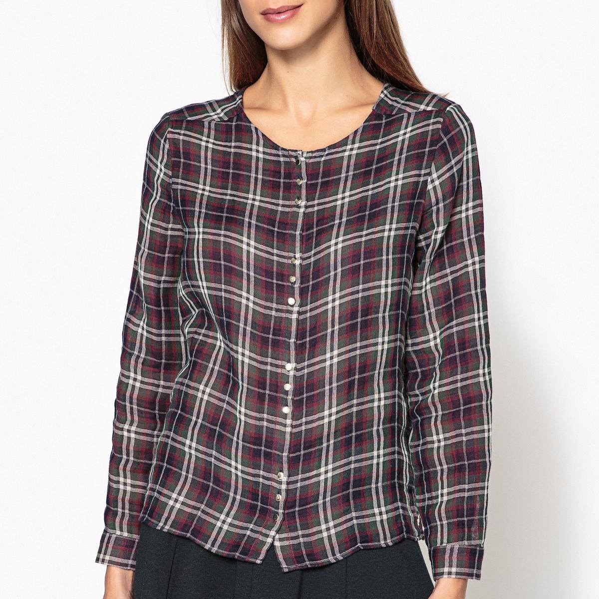 Рубашка в клетку CASSANDRE рубашка harris wilson harris wilson ha019emqpi74