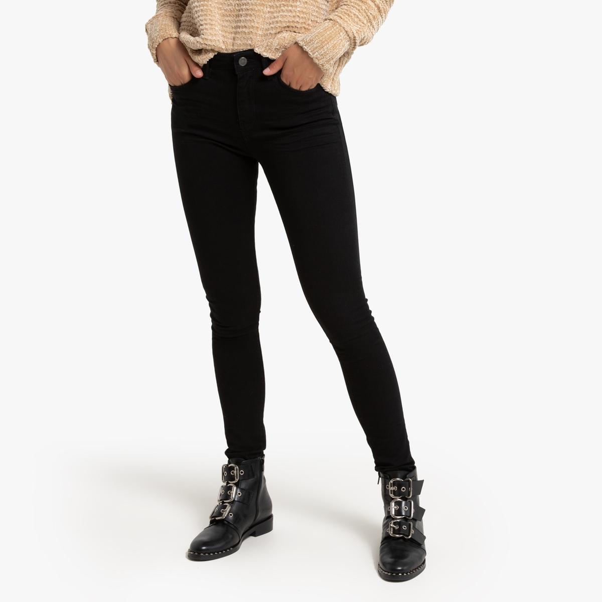 Джинсы La Redoute Скинни Jena 26 (US) - 42 (RUS) черный джинсы la redoute узкие wilda 26 us 42 rus черный