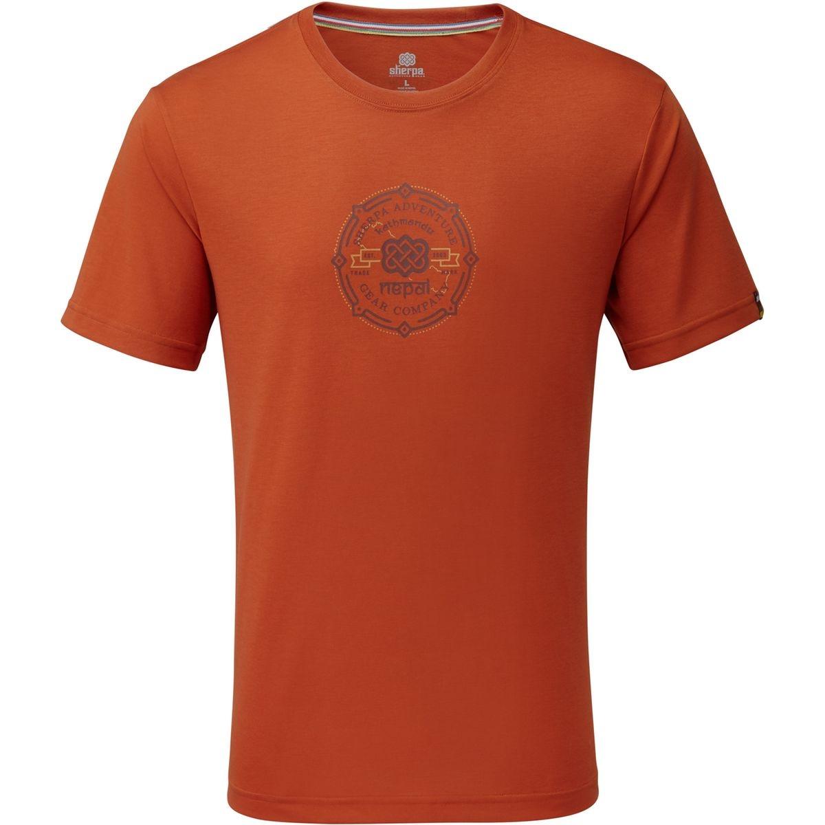 Kimti - T-shirt manches courtes Homme - orange