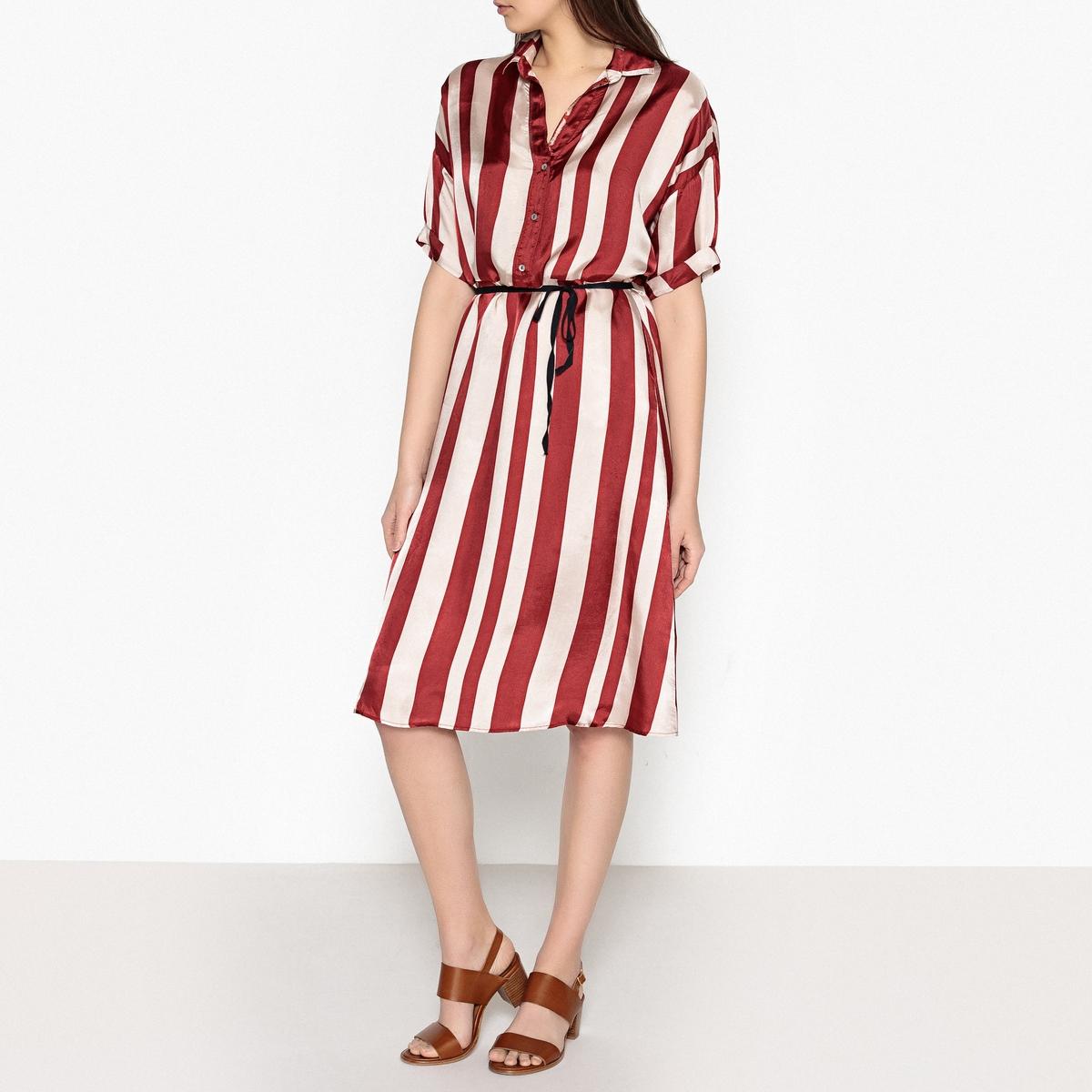 Платье в полоску RAFIANA
