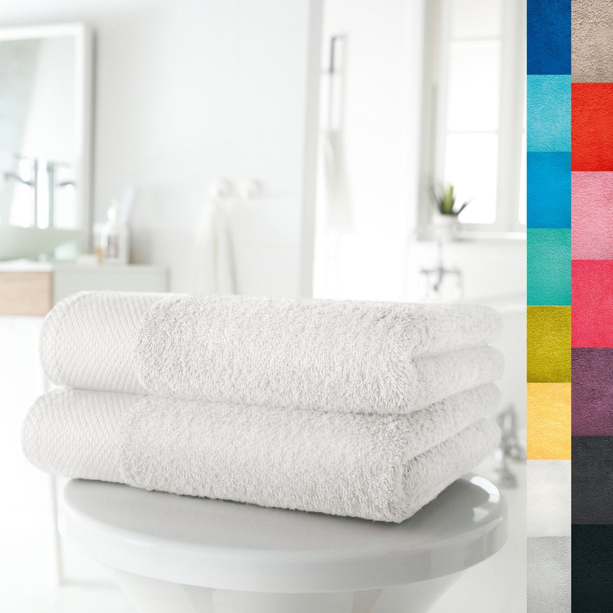 2 полотенца, 420 г/м?Мягкая и прочная ткань, 100% хлопка, 420 г/м?. Отличные впитывающие свойства. Кайма крупинки. Стирка при 60°. Превосходная стойкость цвета.  Машинная сушка. Размер 50 х 100 см. В комплекте 2 полотенца.<br><br>Цвет: белый,гренадин,темно-серо-каштановый светлый,темно-серый<br>Размер: 50 x 100  см.50 x 100  см