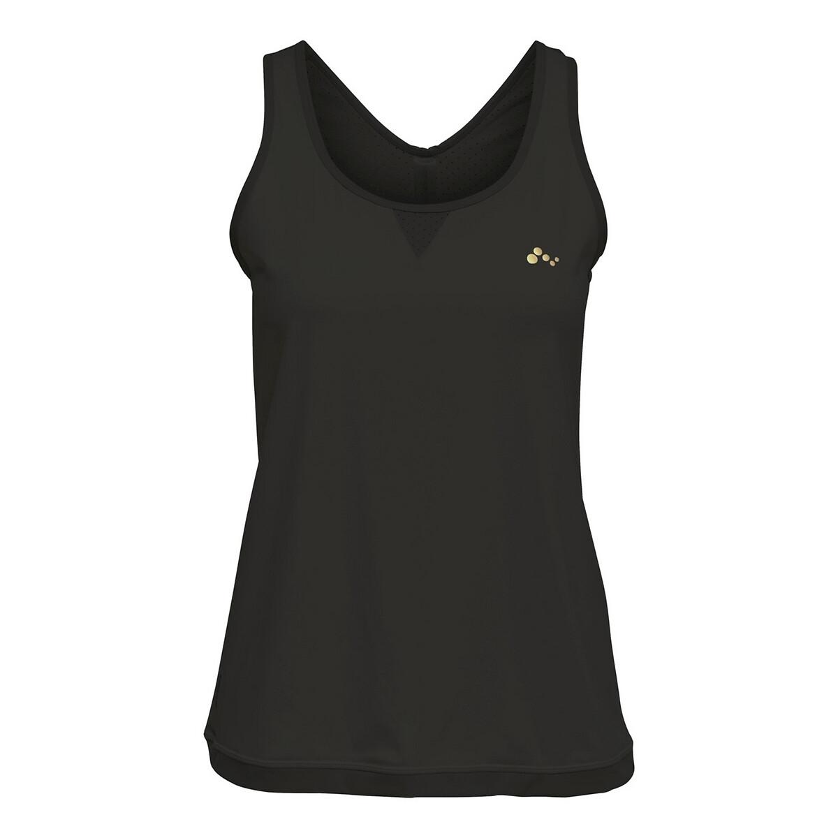 Топ La Redoute Тренировочный для фитнеса L черный