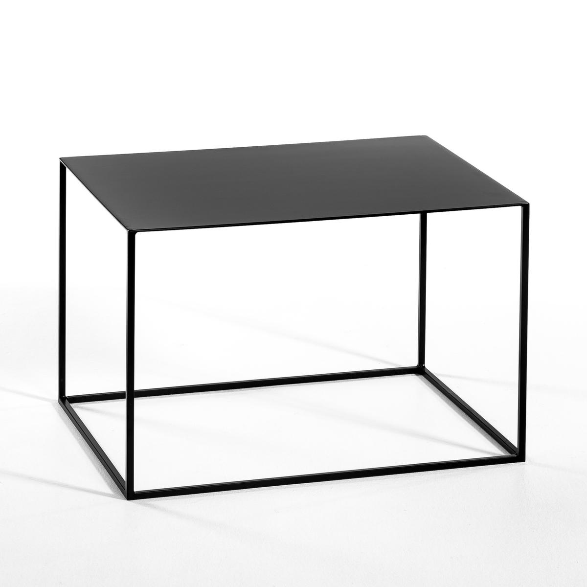 Столик LaRedoute Прямоугольный Romy единый размер черный