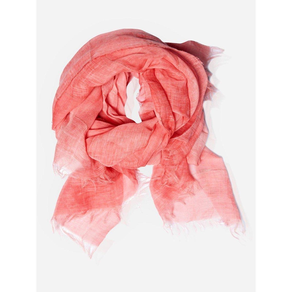 Foulard en lin et Fil textile  Desert