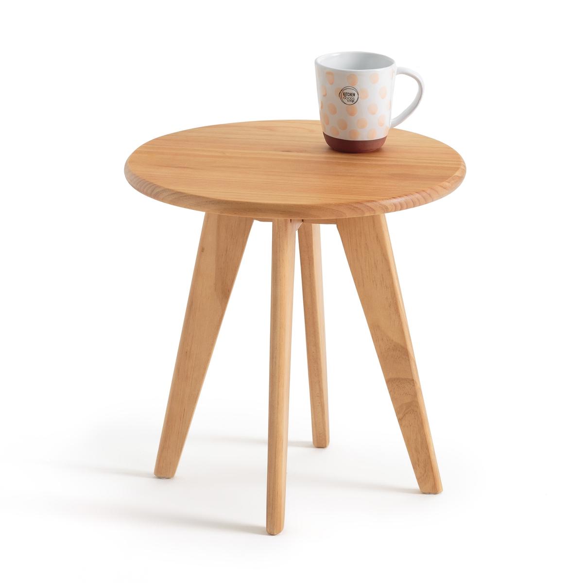 Столик прикроватный круглый JIMI столик прикроватный в винтажном стиле jimi