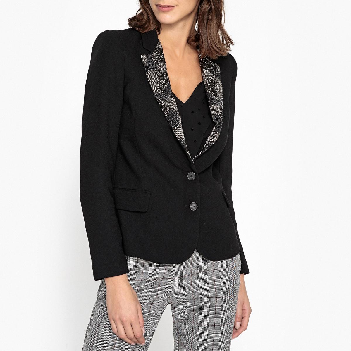Куртка-блейзер с воротником IKKS