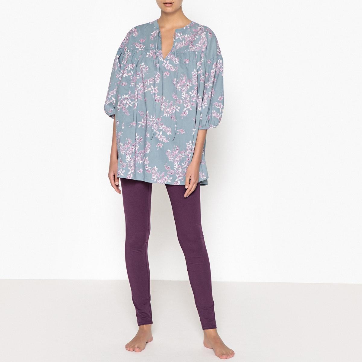 Pijama con motivo de flores