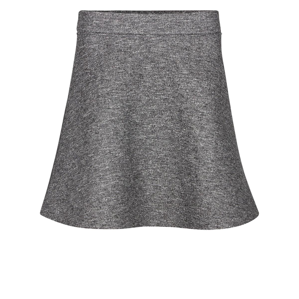 Юбка короткая расклешенная с меланжевым эффектом, CANENSКороткая юбка CANENS от NUMPH. Расклешенная юбка с фетровым эффектом. Меланжевый эффект, ворсистый рисунок. Состав и описание :Материал : 100% полиэстерМодель : CANENSМарка : NUMPH УходМашинная стирка при 30 °С с вещами схожих цветов Стирать и гладить с изнаночной стороны<br><br>Цвет: серый меланж