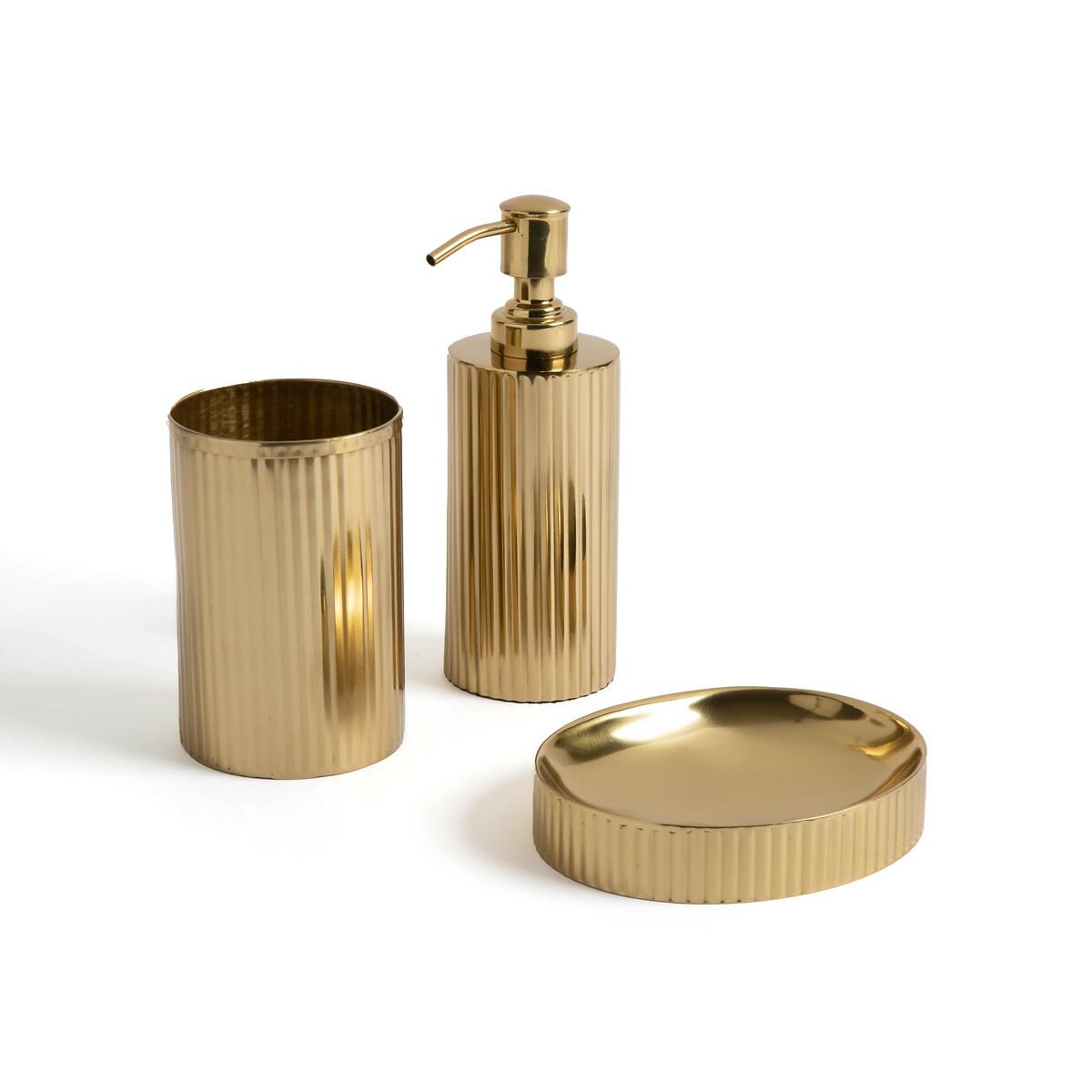 Набор LaRedoute Для ванной Ximia единый размер золотистый