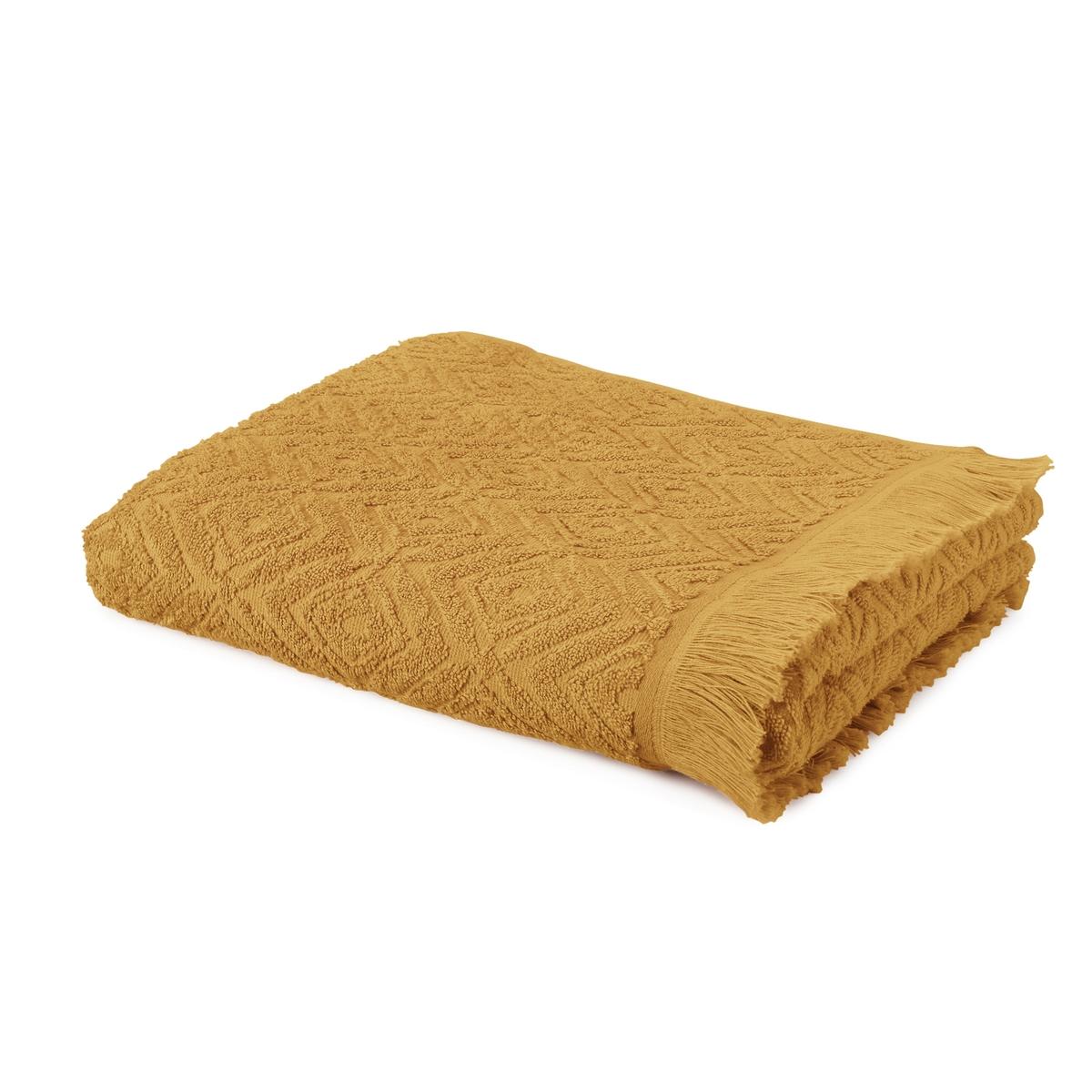 Полотенце банное большое с узором из махровой ткани LAZO