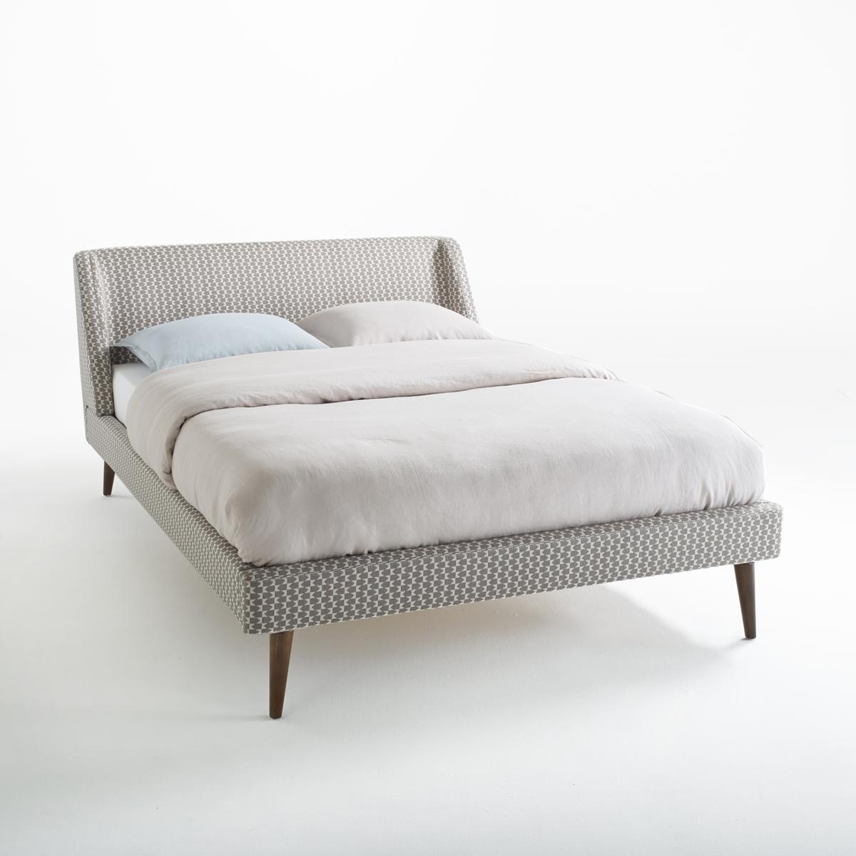 Кровать LaRedoute Semeon 140 x 190 см серый