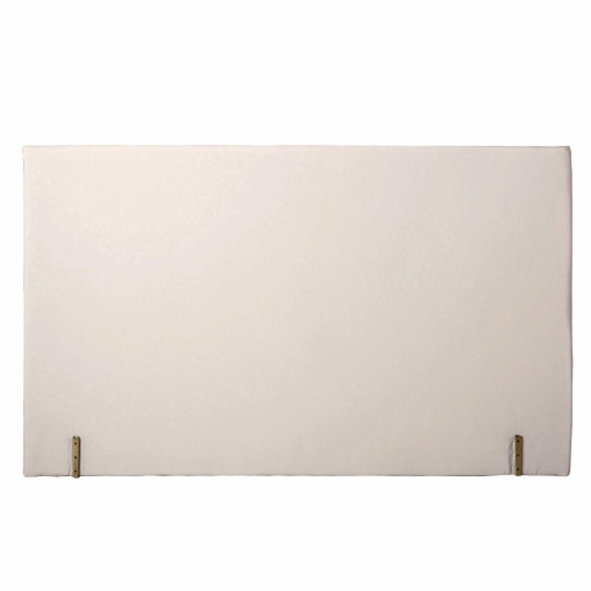 Изголовье LaRedoute Кровати с обивкой прямая форма 180 см белый односпальные кровати