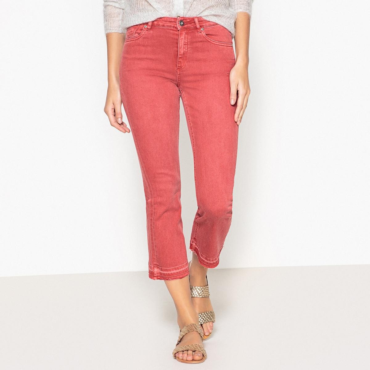 Джинсы укороченные и расклешенные, длина 32 джинсы расклешенные длина 34