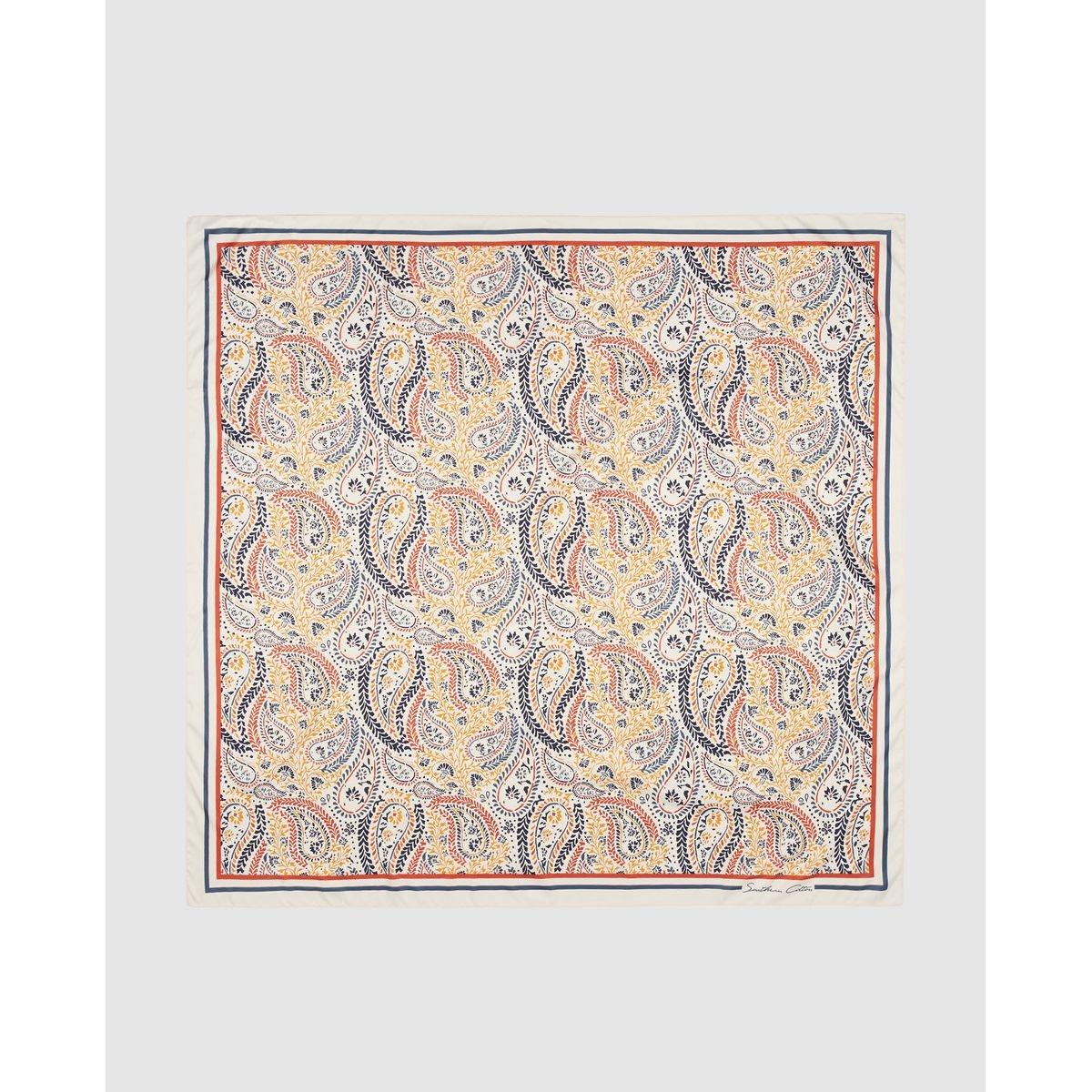 Foulard Southern Cotton à imprimé cachemire