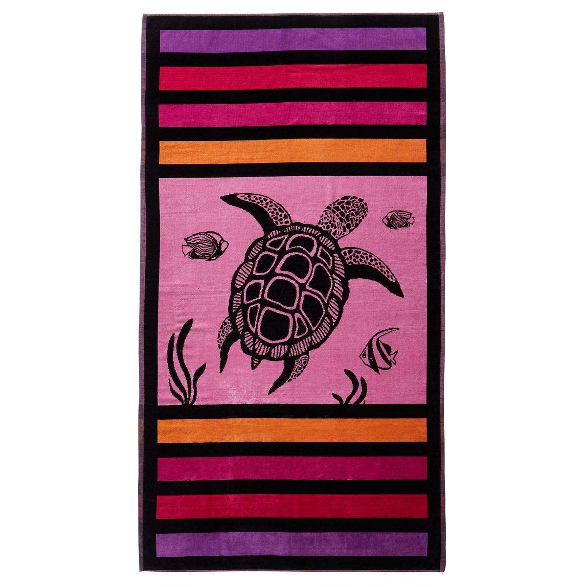Полотенце пляжное SandyПолотенце пляжное из велюра с жаккардовым рисункомХарактеристики пляжного полотенца Sandy :Махровая ткань из велюра с жаккардовым рисунком, 100% хлопок.440 г/м?.Машинная стирка при 60 °С.Размеры пляжного полотенца Sandy :95 x 175 см<br><br>Цвет: розовый<br>Размер: единый размер