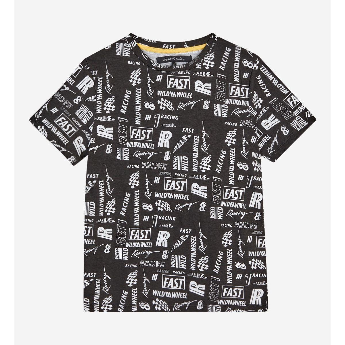T-shirt Colover Droit Coton