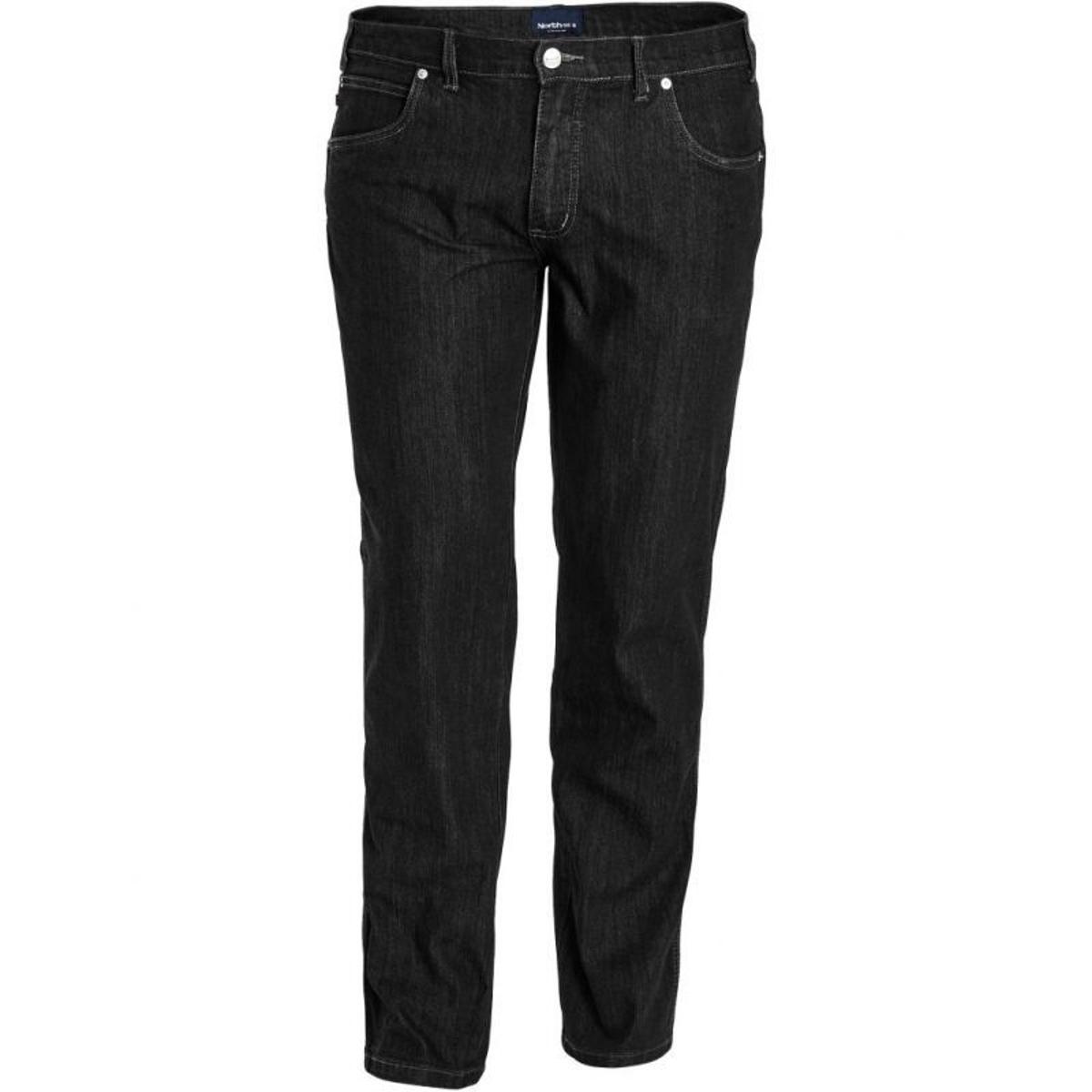 Jeans stretch north bleu