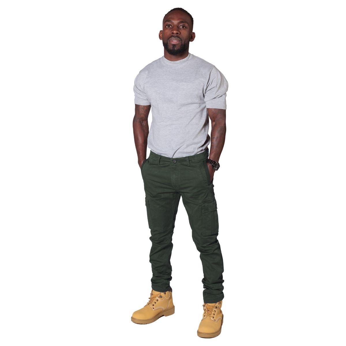 Pantalon Cargo/Chino Homme